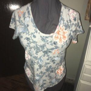 Loft M Vintage soft floral T-shirt